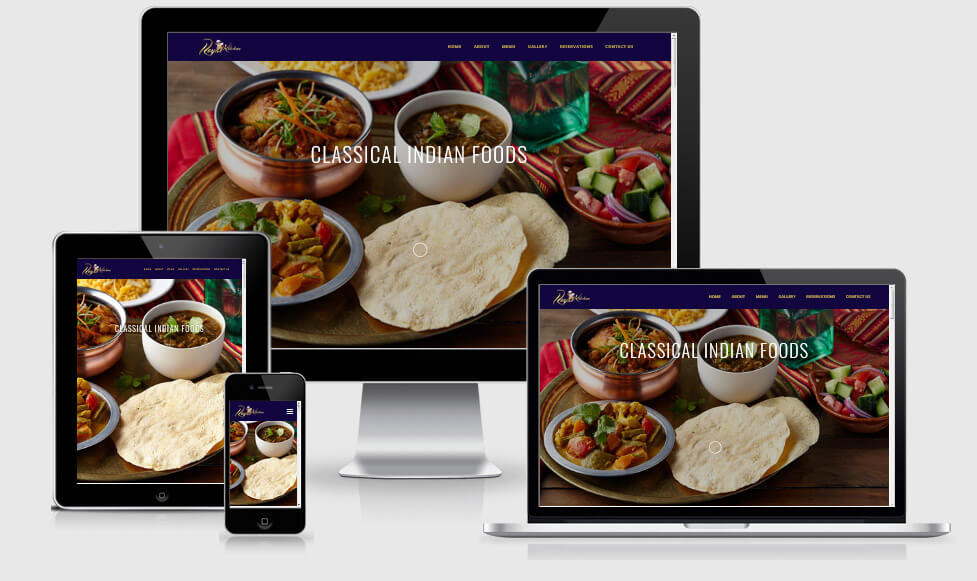 Corporate Website- Royal Kitchen Finland